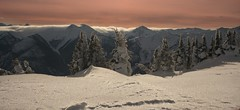 """""""...Snow Porn..."""" (cowgirlrightup) Tags: 40d mountaintop cloud sunset snowglitters cowgirlrightup snowporn valemountbc"""