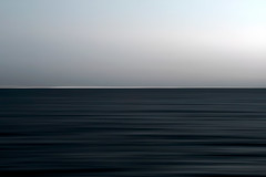 line_3378 (Valerie Guseva) Tags: sea seascape abstract water waves light lights long exposure grey surreal icm impression crimea russia smooth smudge hypnotic clouds sky evening black bw minimalism horizon