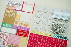 So adorable Mini Album & Scrapbook Kit (Iara_baersgarten) Tags: minialbum journal scrapbook scrapbookkit baersgartendesigns scrapbooking kits mini album kit