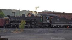 Locomotive 486 (l.e.violett) Tags: railroad locomotive durango silverton dsng pse