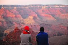 Love at the Canyon (AZ Imaging) Tags: grand grandcanyon arizona rocky cliff travel azimaging romance admire