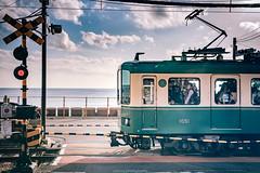 DSC_4601 (juor2) Tags:  d4 nikon scene street streetsnap level crossing kamakura high school japan slamdunk
