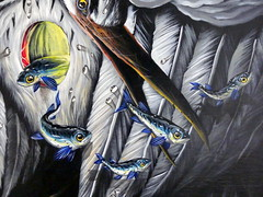 Veks Van Hillik - Hron (dtail) (Thethe35400) Tags: poisson fish pescado fisch arrain peix peixe pesciu pesce fisk ryba pete