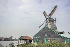 IMG_9503 (digitalarch) Tags: netherlands zaanse schans zaanseschans    windmill
