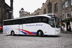 Mercedes-Benz Tourismo of Owen's Coaches / Travelmaster Holidays in Edinburgh (Ian Press Photography) Tags: coach coaches transport edinburgh scotland mercedesbenz tourismo owens travelmaster holidays mercedes merc benz
