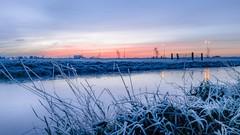 Sun rise @noordeloos. (Eric van Vessem) Tags: noordeloos zuidholland herfst lgg5 lg nederland sunrise zonsopkomst