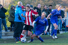 Altrincham LFC vs Stockport County LFC - December 2016-136 (MichaelRipleyPhotography) Tags: altrincham altrinchamfc altrinchamlfc altrinchamladies alty amateur ball community fans football footy header kick ladies ladiesfootball league merseyvalley nwrl nwrldivsion1south nonleague pass pitch referee robins shoot shot soccer stockportcountylfc stockportcountyladies supporters tackle team womensfootball
