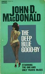 Novel-The-Deep-Blue-Goodbye-by-John-D-MacDonald (Count_Strad) Tags: johndmacdonald mystery novel softcover artworkart