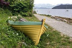 Wooden Boat - Gibsons 4918 (Ursula in Aus) Tags: bc canada gibsons iphone iphone6