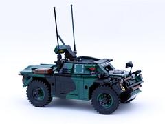 Daimler Ferret scout car (bricktrix) Tags: toys lego legocar armouredcar ferretscoutcar ferretarmouredcar