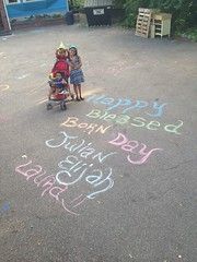 Thank you Birthday Wishes for giving Julian, Laura, and Elijah a fantastic birthday celebration!