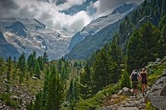 Hiking up to   Refuge Boval (Bovalhtte), Cabane de Boval. Bernina area. August 13, 2015. No,81535. (Izakigur) Tags: topf25 schweiz switzerland nikon flickr suisse swiss topf200 lepetitprince izakigur