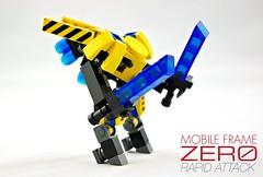 M-32 Mako (Deltassius) Tags: robot war lego space military frame scifi mecha mech hardsuit mf0