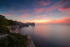 Good night, Cap Formentor (derliebewolf) Tags: sunset flickr tech natur es landschaft spanien goldenhour illesbalears d600 mittelmeer pollença gndfilter manuallens