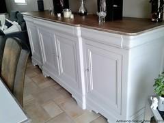 séjour-buffet après (Ambiances Bois & Patines) Tags: peinture buffet meuble relooking pillotou ambiancesboispatines