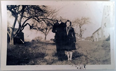 My paternal grandparents: Roger Edward Carlson Sr. and Mary (Brannick) Carlson (Rusty Blazenhoff) Tags: history vintage capecod massachusetts carlson dixon grandparents dickson ancestry peacoat forkan brannick