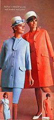 Pennys 67 ss blue and orange (jsbuttons) Tags: clothing mod buttons womens 1967 catalog 67 sixties jcpenny vintagefashion