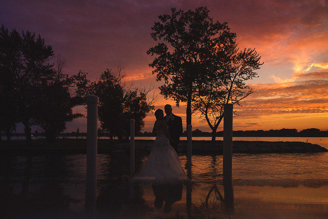 Julie & Nathanael // Wedding at Bogey's Inn // Sombra, Ontario