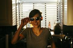Leanne (BurlapZack) Tags: portrait house home kitchen sunglasses bokeh availablelight babe shades handheld asymmetrical reflector spontaneous dallastx pack07 impromptuphotoshoot addisontx pentaxk5 futurehair futureshades vscofilm sigma35mmf14dghsm sigma35art