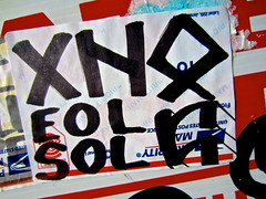 Priority Mail, San Francisco, CA (Robby Virus) Tags: sanfrancisco california sol sticker mail slap usps priority eol xn