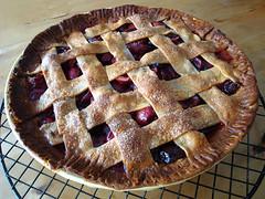 Sweet Cherry Pie (ljstubbs) Tags: food recipe dessert cherries sugar flour lemonjuice cornstarch
