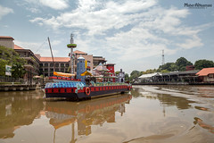 Melacca River (mahernaamani) Tags: holiday reflection nature beautiful beauty canon wow river landscape photography photo asia natural cloudy malaysia melacca melaka 6d ماليزيا foodphotography تصوير تصويري انعكاس كانون canon6d melaccariver كانوني