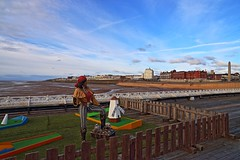 Shivver me Timbers ! (Shine Bright Tiny Pixels) Tags: england beach pier seaside britishisles unitedkingdom crazygolf lancashire coastal promenade sands blackpool blackpoolnorth singlephotohdr canon6d thenorthpier piratestheme distagon2128ze lenscarlzeissdistagontze21mmf28 buxomladypirate