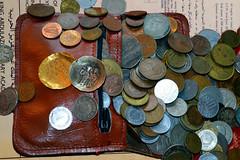 My change purse overflows (byzantiumbooks) Tags: coins byzantine werehere hereios