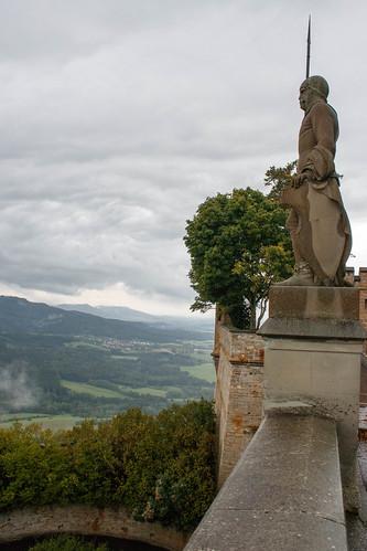 Garde au château de Hohenzollern