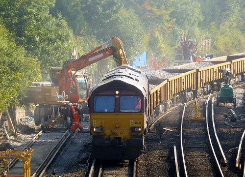 66148 in posession at Bickley Junction