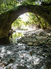 Stream under the bridge (msiapan) Tags: bridge water stone river stream cyprus venetian paphos pafos     tzelefos