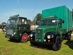 KBO622 & NUY818 (Ben Matthews1992) Tags: show old england 6 classic thames truck vintage wagon cheshire britain rally transport chinese 1954 historic steam chorley lorry commercial vehicle british trucks preserved steer six preservation leyland waggon lorries fordson haulage 2015 dropside et6 astlepark kbo622 wmhancock nuy818 cardiffales