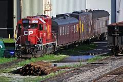 5507 (ontario photo connection) Tags: railroad toronto train railway rails scarborough locomotive cpr locomotives agincourt canadianpacificrailway torontoyard bellevillesub