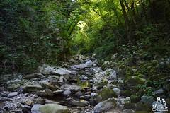 Percorso per arrivare alla Cascata di Cusano - Majella - Abruzzo - Italy