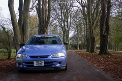 Dave's Colt (CarterBray) Tags: car club japanese mod newport modified colt mitsubishi jap jdm stickerbomb newportjdm