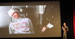 Edward Ross at the Filmhouse 02 (byronv2) Tags: christmas cinema film comics edinburgh books movies writer author livres graphicnovels lothianroad filmhouse bandedessinee edimbourg diehard filmish edwardross selfmadehero