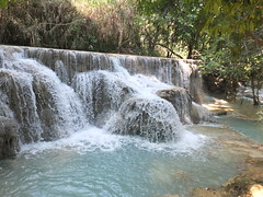 Kuang Si Falls (twiga_swala) Tags: nature landscape waterfall scenery natural si falls pools laos emerald tourits luangprabang wonders attractions kuang luang chutes plunge prabang xi phrabang kuangsi louangphrabang louangprabang louang kuangxi