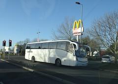 Lucketts FJ59 APF (Coco the Jerzee Busman) Tags: uk england bus coach hampshire southampton