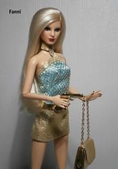 Barbie Basics Doll Collection 2.5 #14 (Black Label) (fanni.finn) Tags: girl gold doll gun barbie blond spy bond