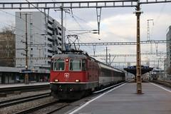 2015-12-09, CFF, Zürich Altstetten (Fototak) Tags: train switzerland eisenbahn railway zürich treno re44ii 11154 sbbcffffs