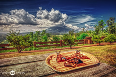Daing with Love at Mount Mayon - HDR Photography By Pipoyjohn (Pipoyjohn) Tags: fish nature landscape photography volcano philippines mayon hdr legaspi albay pipoy pipoyjohn pipoyjohnphotography