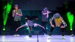 Air time (Explored) (mpakarlsson) Tags: show light girl dance jump theater theatre sweden stage air hats flip hiphop hip hop falkping explored inexplore flikrexplore artdance