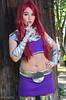 Starfire (El Señor Gato) Tags: starfire cosplay cosplaychile talca chile maule pentax k5ii titans young dc comics