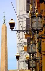 ROMA REVERBERE (patrick555666751) Tags: roma reverbere rome light italia italie italy europe europa flickr heart group lazio latium italien