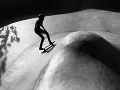 Monochrome Photography Eye4photography  Skateboard Park Real People Lifestyles Silhouette Leisure Activity One Person Full Length Men Skill  Day Outdoors Extreme Sports Black And White Skateboarding (dinalfs) Tags: monochromephotography eye4photography skateboardpark realpeople lifestyles silhouette leisureactivity oneperson fulllength men skill day outdoors extremesports blackandwhite skateboarding