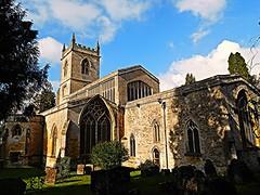 Sunday Worship! (springblossom3) Tags: paris saint marys chipping norton oxfordshire cotswolds religion worship shadows reflections