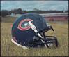 Mamiya RZ67 • Test Roll • Bears Helmet (TheNixer) Tags: mamiya rz67 mamiyarz67proii 6x7negative 110mmf28lens chicagobears football helmet drysummerdeadgrass epsonv800 kodakportra400 jobocpp2 diycolordeveloping aristac41kit