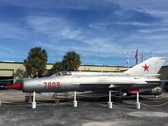 Florida Fishbed (st_asaph) Tags: polishairforce armedforceshistorymuseum mig21 largo fishbed