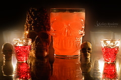 Halloween shots with bae (Kelsey Roulette Photography) Tags: halloween shots vodka 2016 bae nikon photoshop manfrotto tripod
