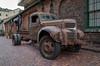 Toronto Distillery District - Old Truck - 1 (JimP (in Sarnia)) Tags: toronto distillery district truck rusty crusty